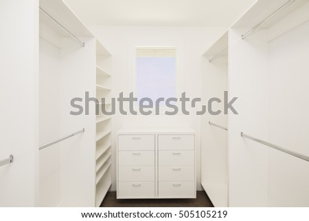 empty walk in closet. Big Empty Walk In Wardrobe / Closet Luxurious House. C