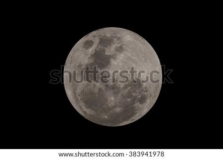 Big Full Moon  - stock photo