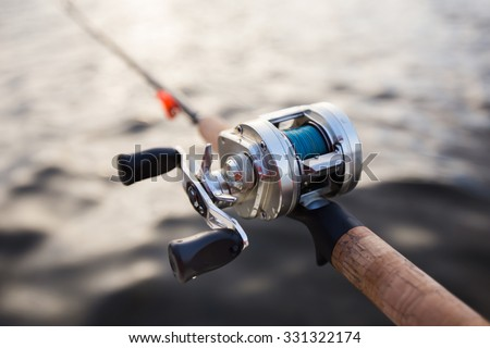 big game fishing reel