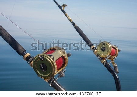 Saltwater fishing rods and reels for Big game fishing rods