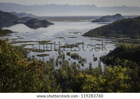 Big Lake - stock photo