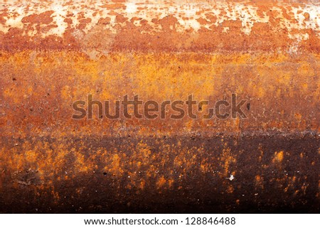 big old pipe. texture of rusty surface - stock photo