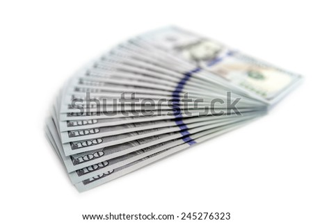 big pile of money. stack of american dollars backgrounds