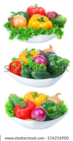 Big set of vegetables. Tasty and wholesome healthy food.