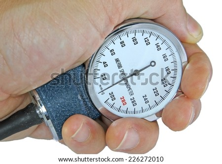 big Sphygmomanometer with blood pressure meter