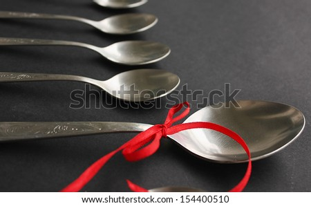 Big spoon - stock photo