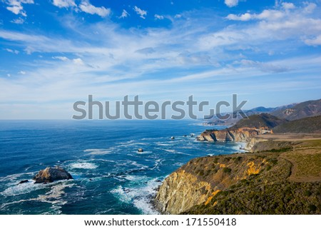 Big Sur California - stock photo