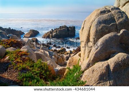 Big Sur California, USA, Monterey - stock photo