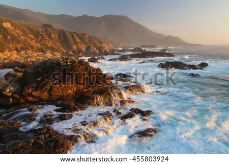 Big Sur, Garrapata State Park, Pacific Ocean coast, California, USA