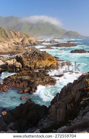Big Sur near Monterey, California, USA - stock photo