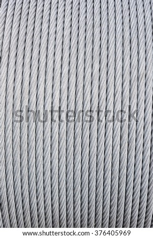 Big Thick Metal Wire Wound On Stock Photo 376405969 - Shutterstock