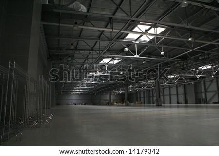 big thin storage - stock photo