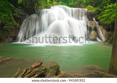 Big waterfall in Thailand