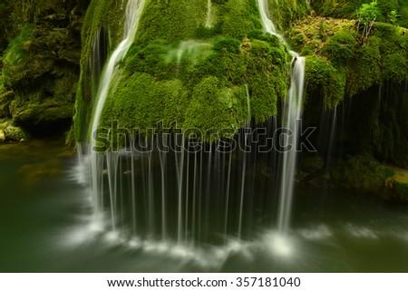 Bigar water fall, Romania - stock photo