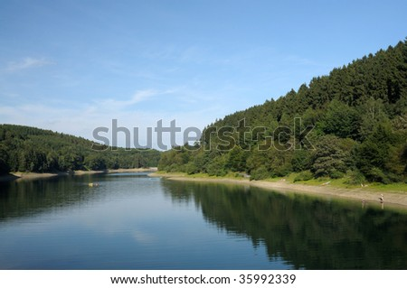 Biggesee in Sauerland, Germany