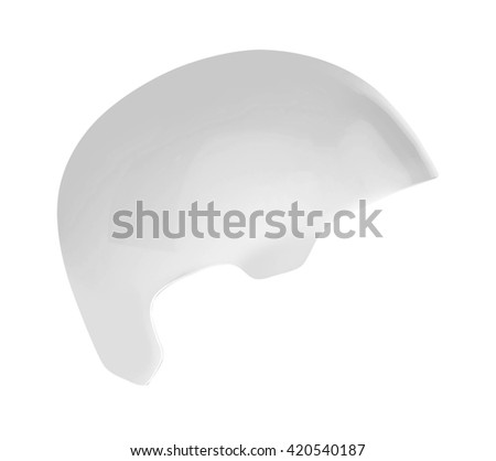bike helmet isolated