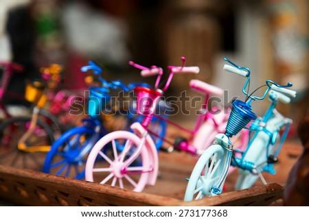 Bike Toys - stock photo