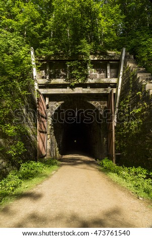 Bike Trail Tunnel