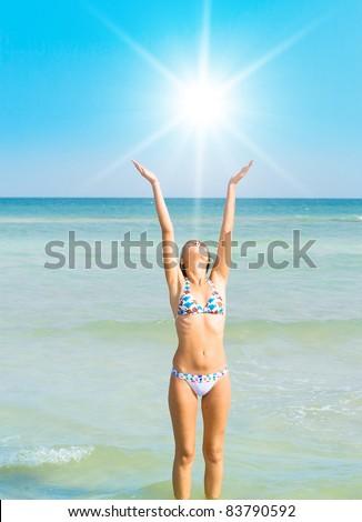 as women objects clad Bikini