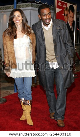 "Bill Bellamy attends the Los Angeles Premiere of ""Fun with Dick and Jane"" held at The Mann Village Theatres in Westwood, California, United States on December 14, 2005.  - stock photo"