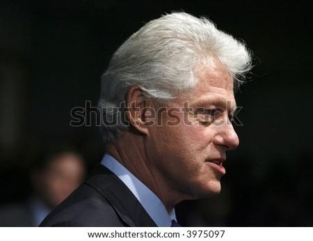 Bill Clinton - stock photo