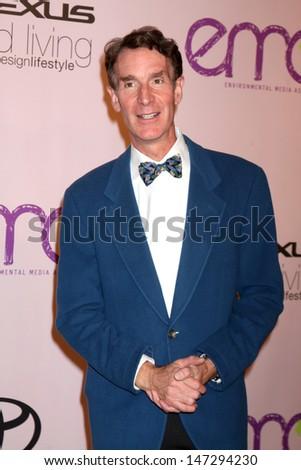 Bill Nye, the Science Guy at the Environmental Media Awards 2009 Paramount Studios Beverly Hills,  CA October 25, 2009 - stock photo