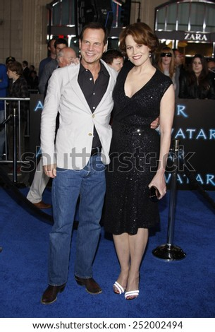 "Bill Paxton and Sigourney Weaver at the Los Angeles Premiere of ""Avatar"" held at the Grauman's Chinese Theater in Hollywood, California, United States on December 16, 2009.  - stock photo"