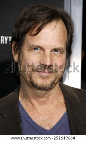 "Bill Paxton at the Los Angeles Premiere of ""Captain Phillips"" held at the AMPAS Theatre in Beverly Hills on September 30, 2013 in Los Angeles, California.  - stock photo"