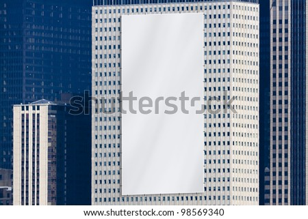 Billboard - Urban Design - stock photo