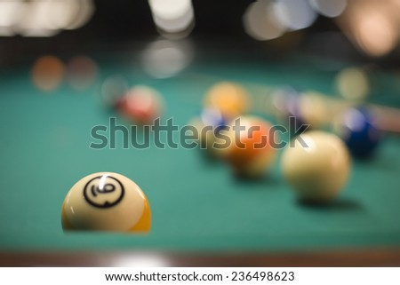 Billiard Table