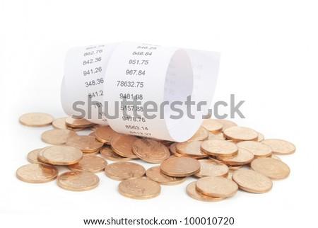 Bills - stock photo