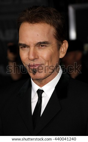 Billy Bob Thornton at the Los Angeles premiere of 'Faster' held at the Grauman's Chinese Theater in Hollywood, USA on November 22, 2010. - stock photo
