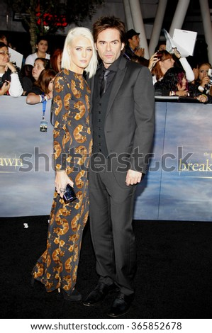 "Billy Burke at the Los Angeles Premiere of ""The Twilight Saga: Breaking Dawn - Part 2"" held at the Nokia L.A. Live Theatre in Los Angeles, California, United States on November 12, 2012.  - stock photo"