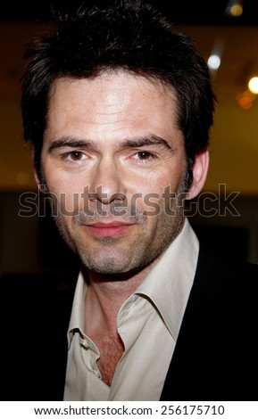 "Billy Burke attends the World Premiere of ""Untraceable"" held at the Pacific Design Center in West Hollywood, California, United States on January 22, 2008.  - stock photo"