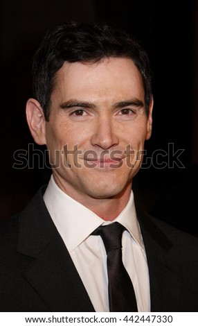 Billy Crudup at the Los Angeles premiere of 'Watchmen' held at the Grauman's Chinese Theater in Hollywood, USA on March 3, 2009. - stock photo