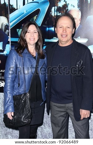 "Billy Crystal, Janice Crystal at HBO's ""His Way"" Los Angeles Premiere, Paramount Studios,  Hollywood, CA 03-22-11"