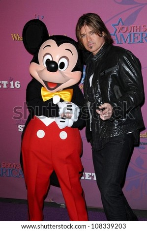 Billy Ray Cyrus  at the Sweet 16 Celebration for Miley Cyrus. Disenyland, Anaheim, CA. 10-05-08