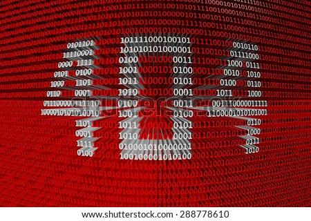 binary code 404 - stock photo