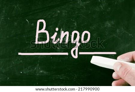 bingo concept - stock photo