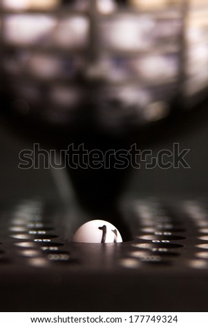 Bingo Game Ball - stock photo