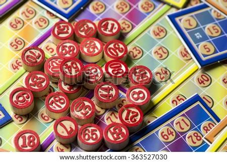 Bingo Tombola - stock photo