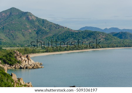 Binh Tien beach - one of the most beautiful beach at Cam Ranh bay