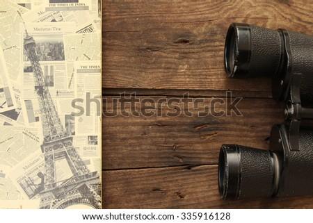 Binoculars - stock photo