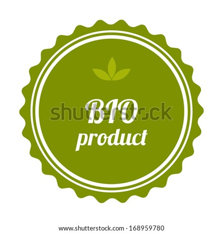 BIO product badge and label.  - stock photo