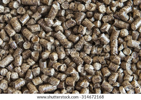 Biofuels for all types of boilers and furnaces - stock photo