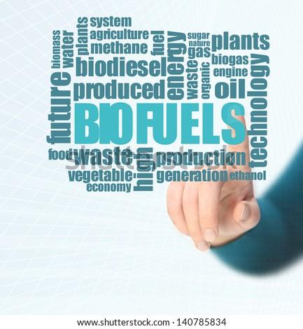 Biofuels or Biofuel - stock photo