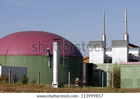 biogas plant agriculture new energy renewable