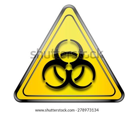 Biohazard sign. - stock photo