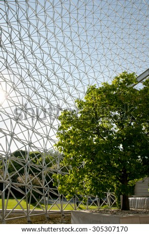 Biosphere - Montreal - Canada - stock photo