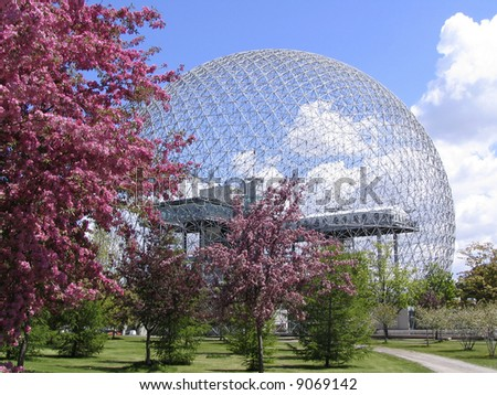 Biosphere of Montreal - stock photo